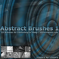 Abstract Brushes 1 by AscendedArts