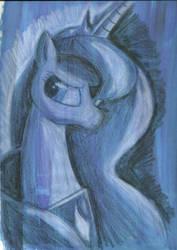 Princess Luna by StephenWinter