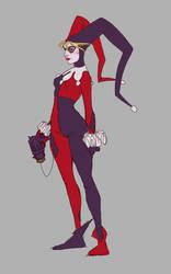 Harley Quinn by Kurospoons