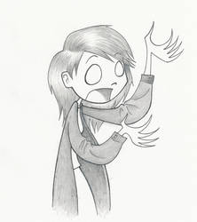 An old drawing of meh by Akakoneko