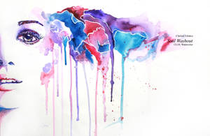 Watercolor: Soul Washout by clitiatco