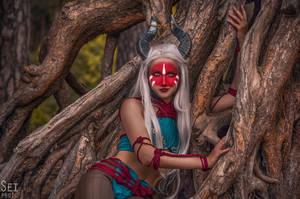 Dragon Age: Inquisition (Female Qunari) by niamash
