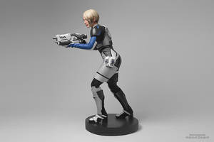 Mass Effect: Andromeda (Cora Harper cosplay) by niamash