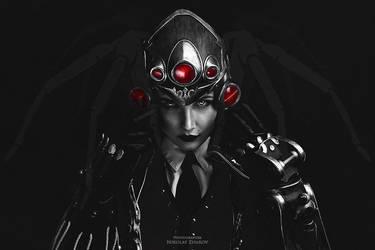 Widowmaker (Huntress skin) `1 by niamash