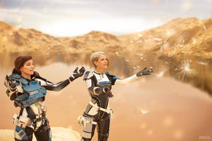 A Foundation (Mass Effect: Andromeda cosplay) 11 by niamash