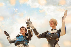 A Foundation (Mass Effect: Andromeda cosplay) 12 by niamash