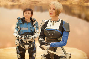 A Foundation (Mass Effect: Andromeda cosplay) 10 by niamash