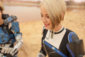 A Foundation (Mass Effect: Andromeda cosplay) 3 by niamash