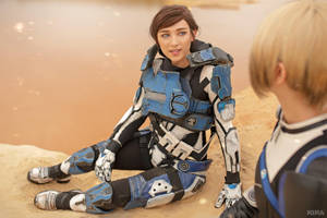 A Foundation (Mass Effect: Andromeda cosplay) 2 by niamash