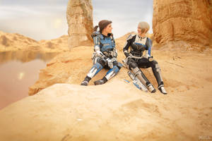 A Foundation (Mass Effect: Andromeda cosplay) 1 by niamash