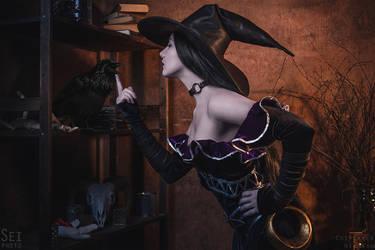 Aphra Cadabra! Smite cosplay 10 by niamash