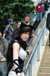 Anime Boston 2014 - Stairs. by Roanam