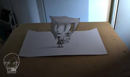Little Gaz (anamorfico) by KGBunn