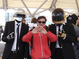 Daft Punk at London MCM EXPO by Collioni69