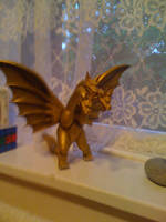 My King Ghidorah Statue by Collioni69