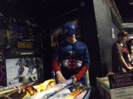 Captain America Cosplayer by Collioni69