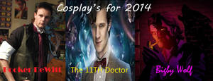 Cosplays for 2014 (100th Upload) by Collioni69