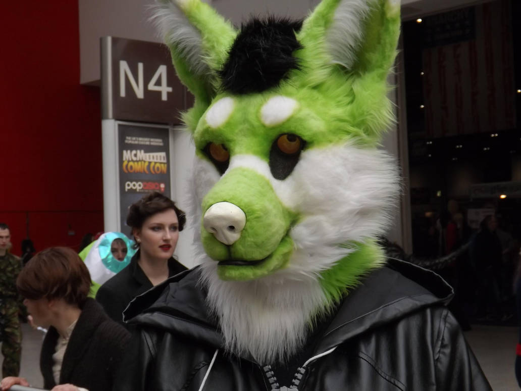 Green Wolf by Collioni69