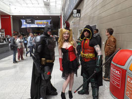 The Bat, The Boy Wonder And The Quinn by Collioni69