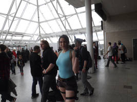 Lara Croft Cosplayer by Collioni69