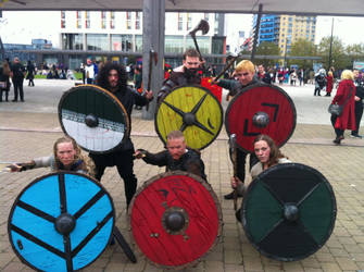 Viking Cosplayers by Collioni69