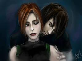 Lara vs Kurtis_Luvr by LariSka-Makedonskaya
