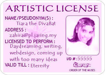 Tiara's Artistic License by mydemand