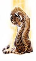 Tiger by fleebites