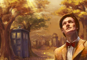 Run You Clever Boy_Doctor Who_11th_Wallpaper by pastellZHQ