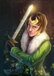 Loki-Agent of Asgard by pastellZHQ