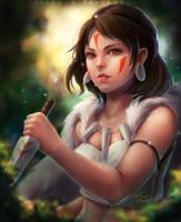 Princess Mononoke by pastellZHQ