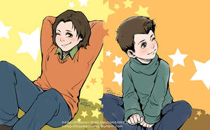 Supernatural_ The Little Winchesters by pastellZHQ