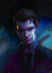 Detroit: Become Human - Connor by pastellZHQ