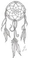 Dreamcatcher Tattoo by icedragonenflamed
