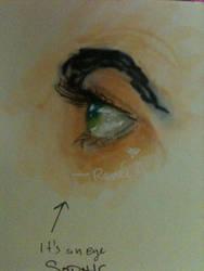 Eye  by FantasyMusicWarrior