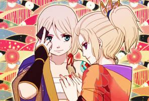 Kagamine Hachi Hachi Hana-no Kassen by carlmary