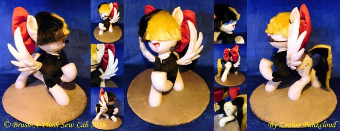 Songbird Serenade Custom Plush Sculpture Auction by Zooher-Punkcloud