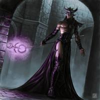 Sorcerer of Slaanesh by albe75