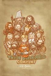 Thorin Oakenshield Company-1 by haleyhss