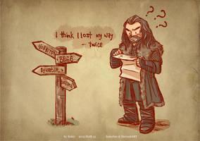I lost my way... twice by haleyhss