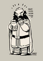 Dwalin and cookies OuO by haleyhss