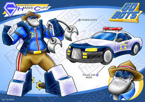 Gobots Animated Hans-Cuff by PWThomas