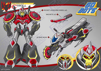 Gobots Animated Cykill by PWThomas