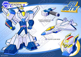 Gobots Animated Leader-1 by PWThomas