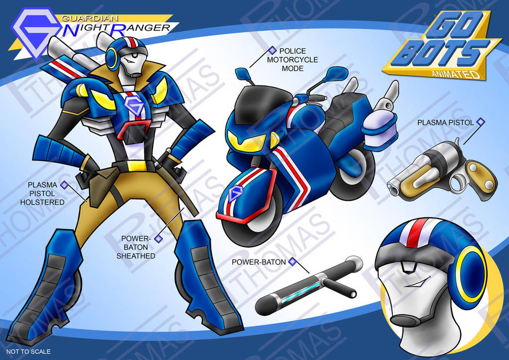 Gobots Animated Night Ranger by PWThomas