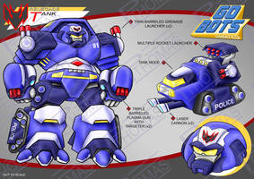 Gobots Animated Tank by PWThomas