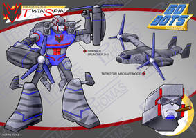 Gobots Animated Twin Spin by PWThomas