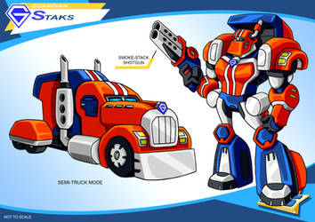 Gobots Animated Staks by PWThomas