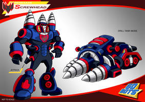 Gobots Animated Screwhead by PWThomas