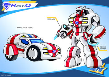 Gobots Animated Rest-Q by PWThomas